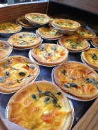 Home Baked Quiche